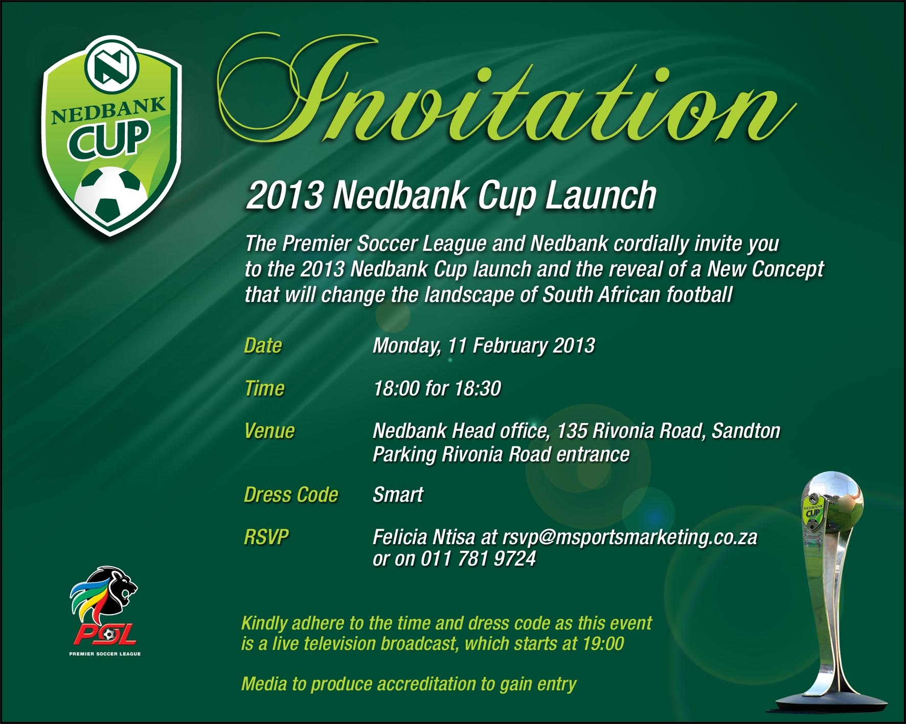 Image Format North West News Online – Launching Invitation Card